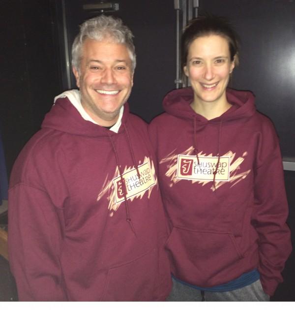 Brad Gibson and Tanya Elchuk