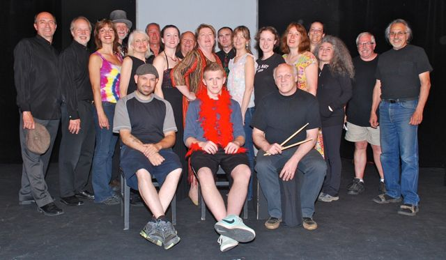 The Cast, Band in Front