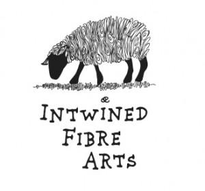 Intwined Fibre Arts logo