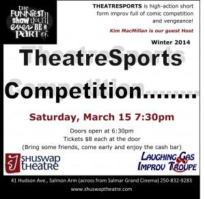 TheatreSports Improv Competition Shuswap Theatre