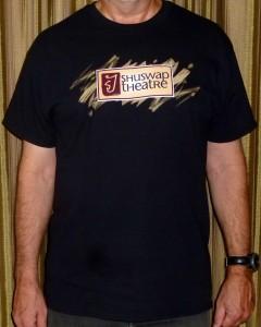 T-shirt black front